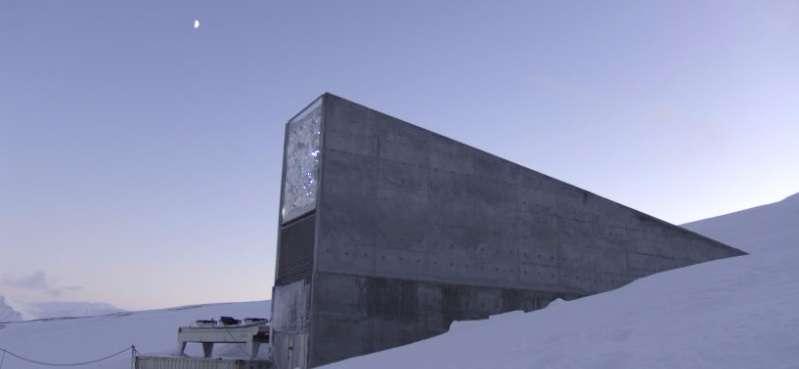 Svalbard Global Seed Vault and hydroponics