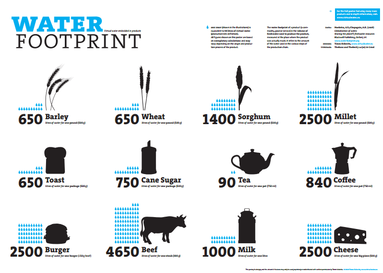 water footprint of products1